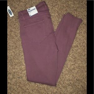 NWT Old Navy colored Rockstar Skinny Jeans Sz 8R